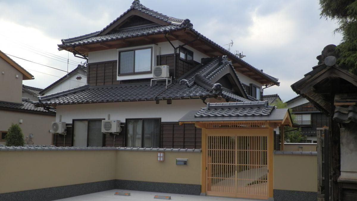 純和風の家